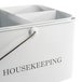 Vintage Housekeeping Caddy | M&W White - Image 6