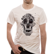 Rampage - Skull Men's X-Large T-Shirt - White