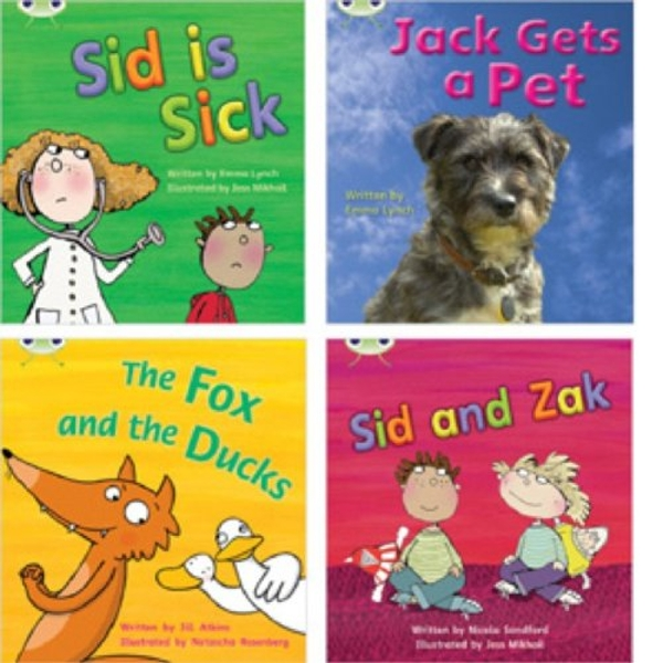 Learn to Read at Home with Phonics Bug: Pack 3 (Pack of 4 reading books with 3 fiction and 1 non-fiction) by Emma Lynch, Nicola Sandford, Jill Atkins (Paperback, 2010)