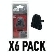 Darth Vader (Pack Of 6) Star Wars 3D Vent Clip