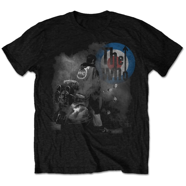 The Who - Quadrophenia Album Unisex Small T-Shirt - Black
