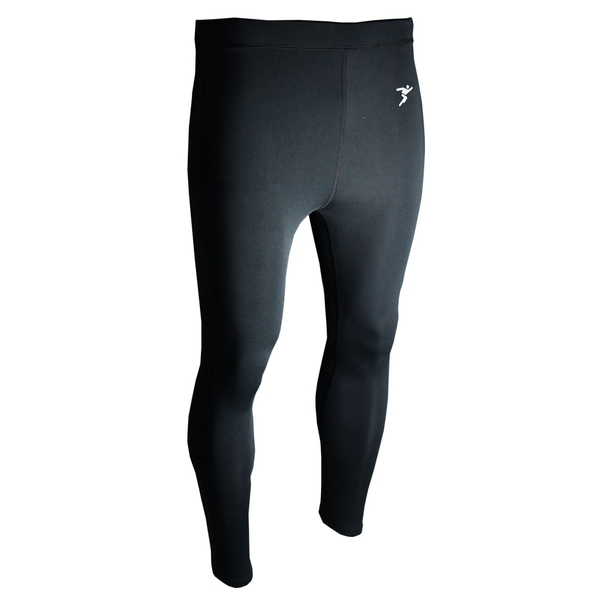 Precision Essential Baselayer Leggings Adult Black Small 32-34""