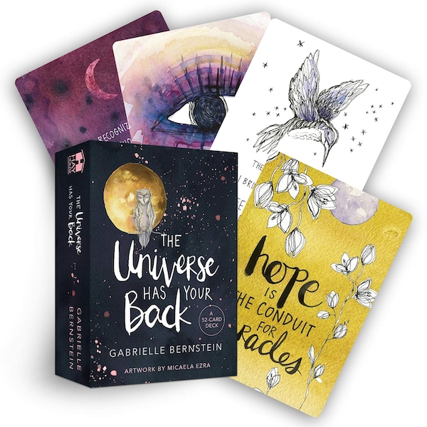 The Universe Has Your Back: A 52-Card Deck Cards - 5 Sept. 2017