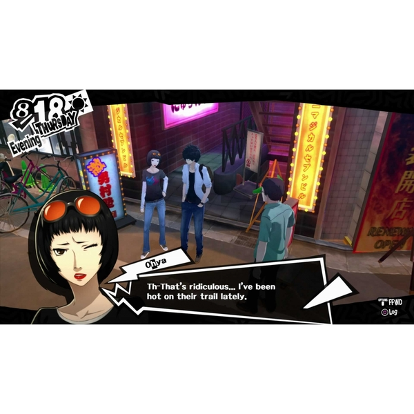 Persona 5 PS4 Game