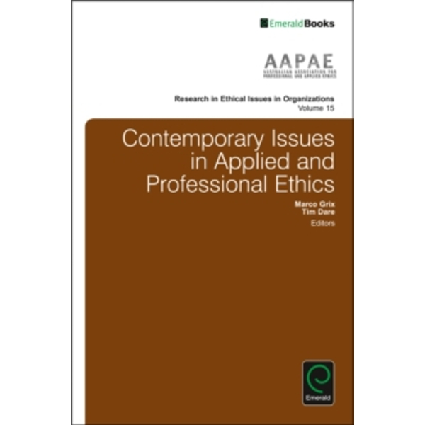 Contemporary Issues in Applied and Professional Ethics : 15