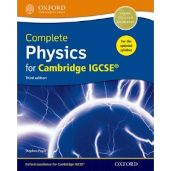 Complete Physics for Cambridge IGCSE (R) Student book by Stephen Pople (Mixed media product, 2017)