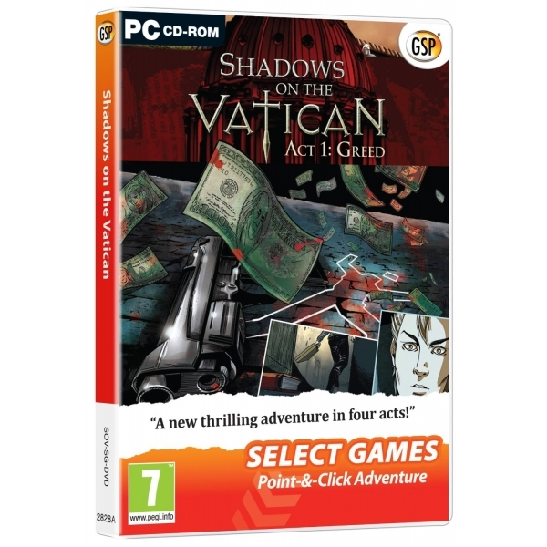 Shadows on the Vatican Act 1 Greed (Select Games) Game PC