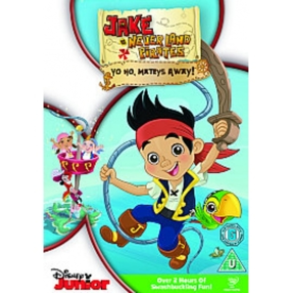 Jake And The Never Land Pirates Yo Ho Mateys Away! DVD