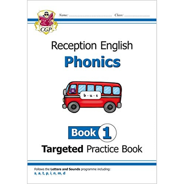 English Targeted Practice Book: Phonics - Reception Book 1  Paperback / softback 2018