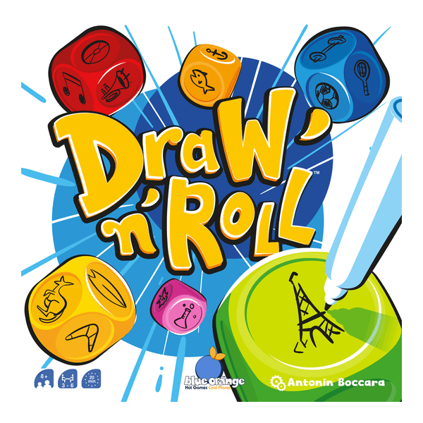 Draw 'n' Roll Dice Game