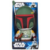 Star Wars - Medium Talking Boba Fett Plush