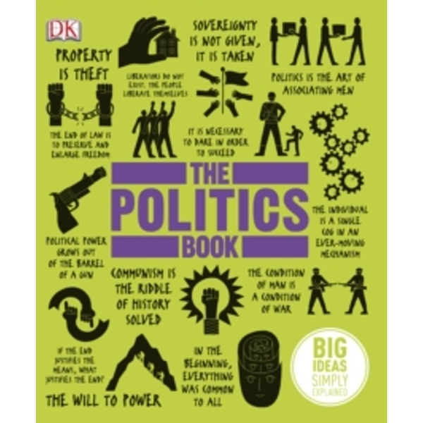 The Politics Book by DK (Hardback, 2013)