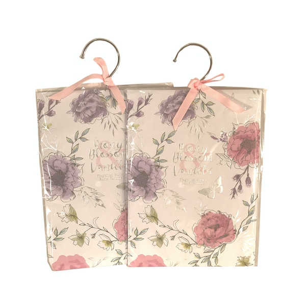 Pair Of Pink Fragranced Sachets