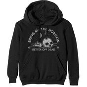 Bring Me The Horizon - Happy Song Men's Small Pullover Hoodie - Black