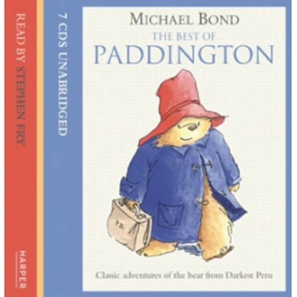 Michael Bond The Best of Paddington on Audio Book CD