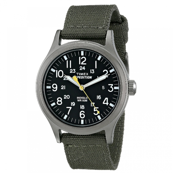 Timex T49961 Expedition Scout Watch with Green Nylon Strap