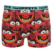 Disney Muppets Animal Boxer Shorts Pink Large Pink
