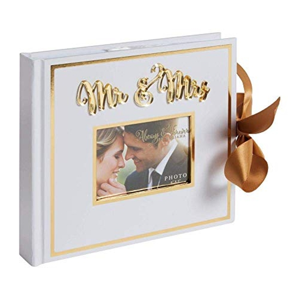 "Always & Forever Gold Foil Photo Album 4"" x 6"" - 25 Pages"