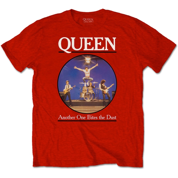 Queen - Another One Bites The Dust Unisex X-Large T-Shirt - Red