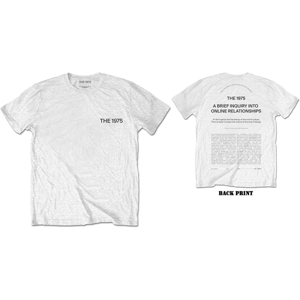 The 1975 - ABIIOR Wecome Welcome Men's X-Large T-Shirt - White