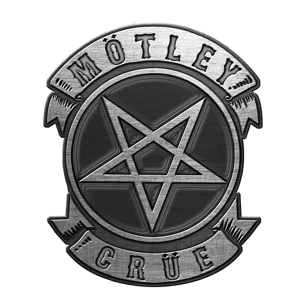 Motley Crue - Pentagram Pin Badge