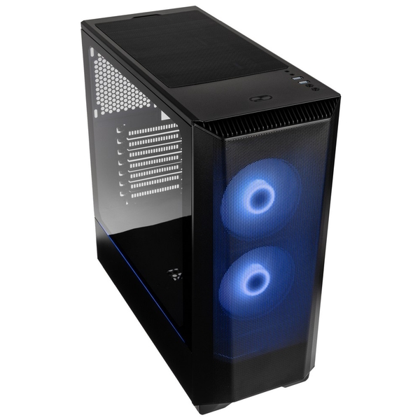 Image of Phanteks Eclipse P360 Air Mid Tower Case Tempered Glass DRGB - Satin Black