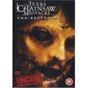 Texas Chainsaw Massacre Beginning DVD