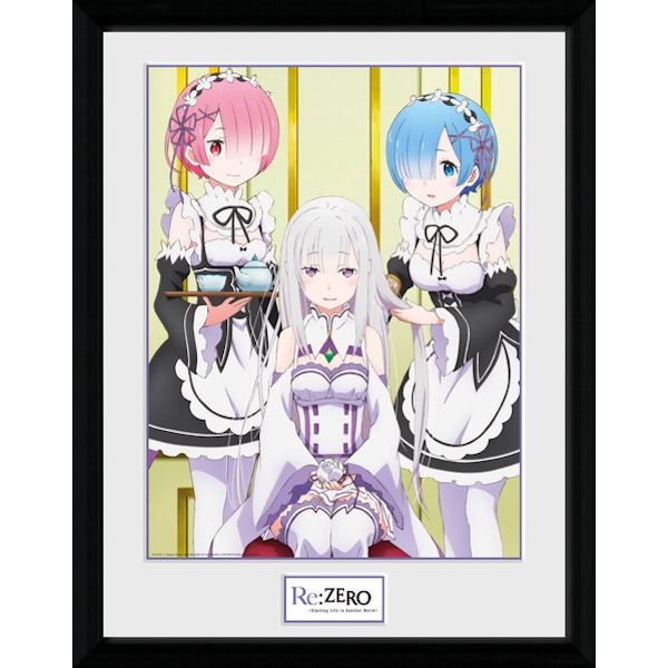 Re-Zero Hair Collector Print