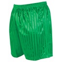Precision Striped Continental Football Shorts 26-28 inch Green