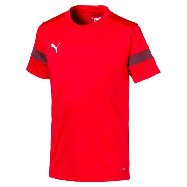 Puma Junior ftblPLAY Training Shirt Red/Burgundy - 7-8 Years