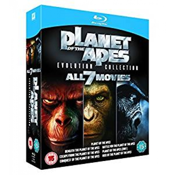 Planet of the Apes Evolution Collection Blu-ray - Image 1