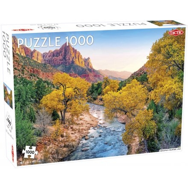 Watchman Mountain 1000 Piece Jigsaw Puzzle