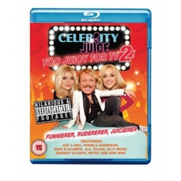 Celebrity Juice Too Juicy for TV 2! Blu Ray