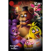 Five Nights at Freddys Group Maxi Poster
