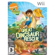 Ex-Display Go Diego Go! Great Dinosaur Rescue Game Wii Used - Like New