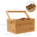 Bamboo Utensil Cutlery Holder | M&W - Image 3