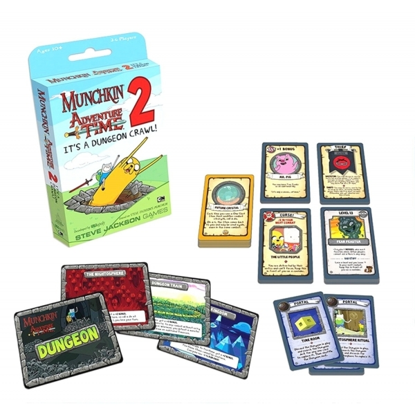 Munchkin Adventure Time 2 Its a Dungeon Crawl! Expansion - Image 3