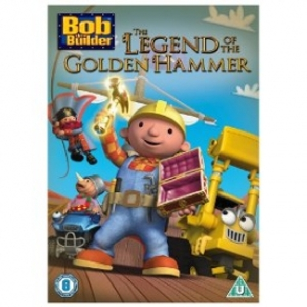 Bob The Builder The Legend Of The Golden Hammer DVD - Image 1