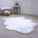 Faux White Sheepskin Rug | M&W - Image 6