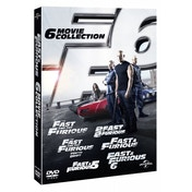 Ex-Display Fast & Furious 1-6 Movie Collection DVD Used - Like New