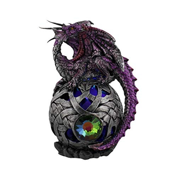 Mystic Legends Purple Dragon with LED Orb
