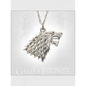 Game of Thrones Sterling Silver Stark Pendant