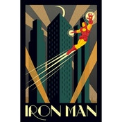 Marvel Deco (iron Man) Maxi Poster