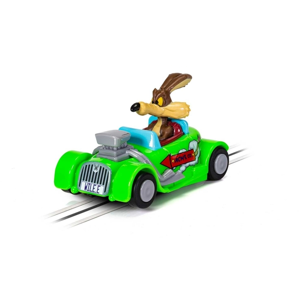 Looney Tunes Wile E. Coyote Micro Scalextric Car