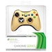 Official Microsoft Wireless Controller Gold Chrome Xbox 360 - Image 2
