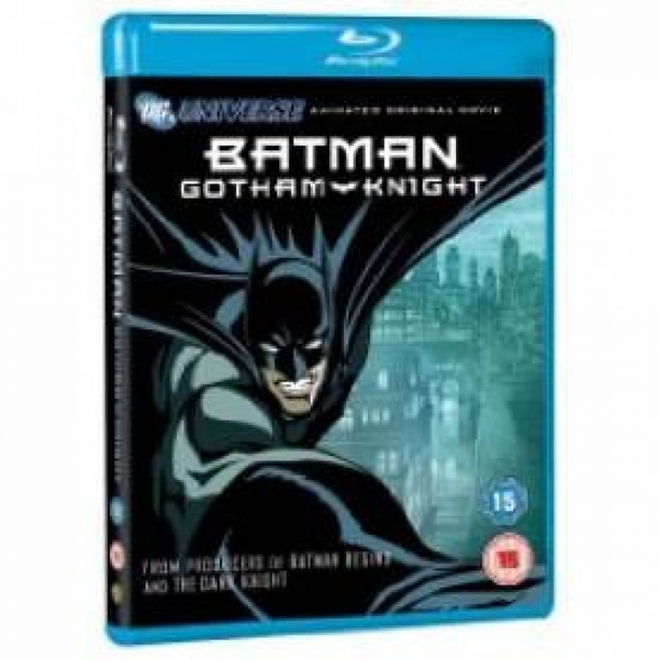 (Pre-Owned) Batman Gotham Knight Blu-ray Used - Like New