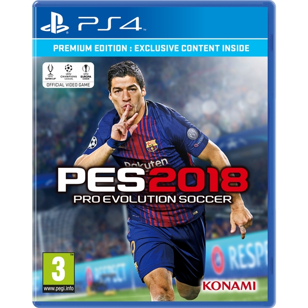 Pro Evolution Soccer 2018 Premium Edition PS4 Game