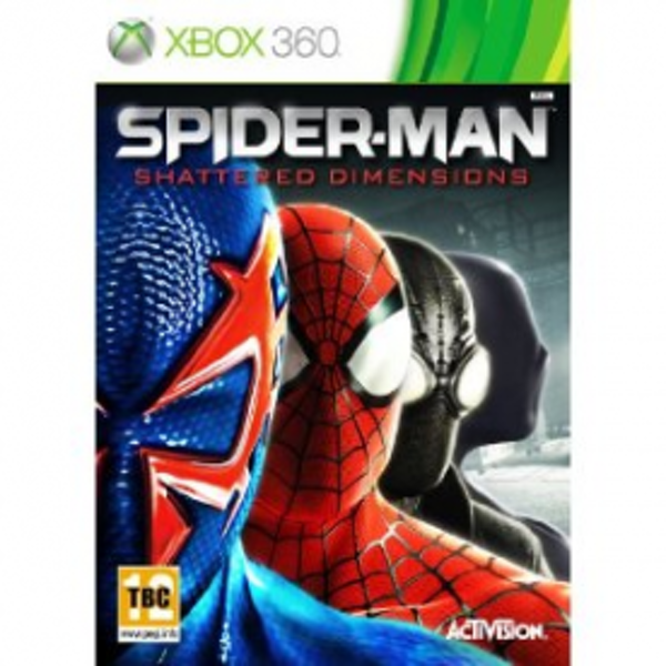 Spider-Man Shattered Dimensions Xbox 360 Game