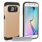 Caseflex Samsung Galaxy S6 Edge Tough Armor Case - Champage Gold