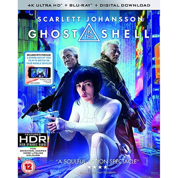 Ghost In The Shell 4K UHD   Blu-ray